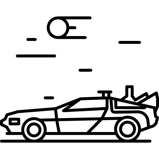 Back To The Future Icons Free Download