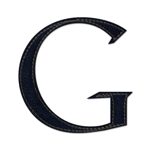 Google G Icon Blue Jeans Social Media Iconset