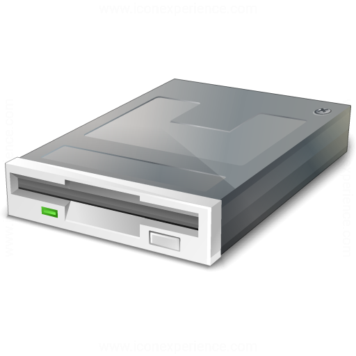 Iconexperience V Collection Floppy Drive Icon