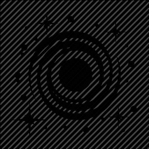 Black Hole, Galaxy, Space, Wormhole Icon