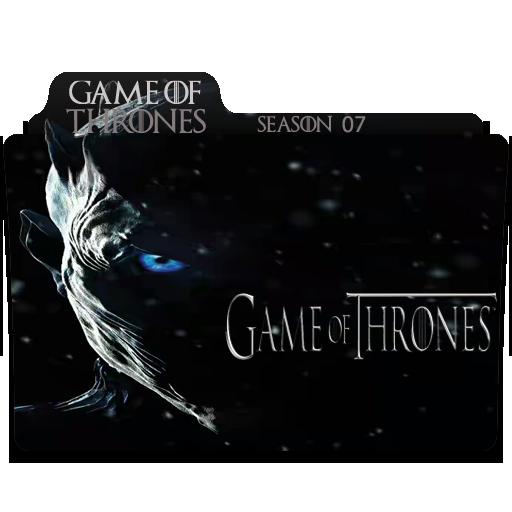 Game Of Thrones Season Series Folder Icon