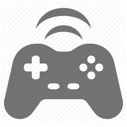 Controller, Game, Gamepad, Input, Joystick, Wifi, Wireless Icon