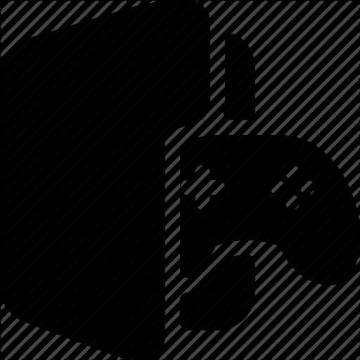 Data, Documents, Files, Folder, Games Icon