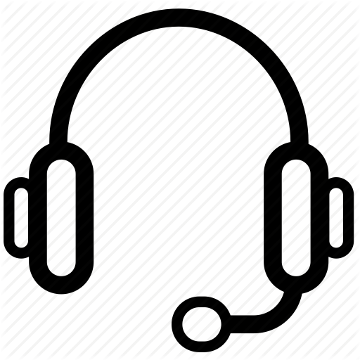 Gaming, Headphones, Headset, Line, Speak, Talk Icon
