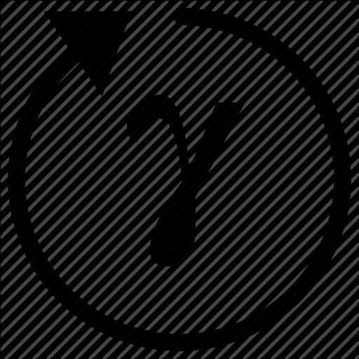 Alphabet, Gamma, Greek, Letter Icon
