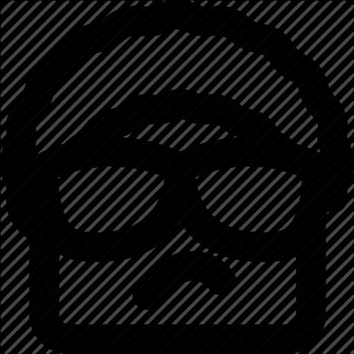 Emoji, Emoticon, Face, Gangsta Icon
