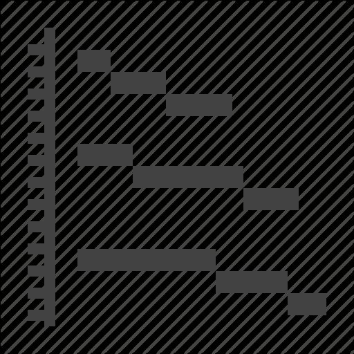 Analysis, Analyze, Chart, Diagram, Gantt Icon