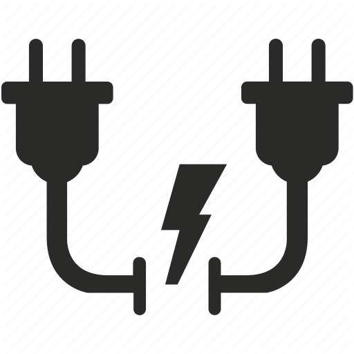 Connection, Electric, Electricity, Gap, Power, Shock, Socket Icon