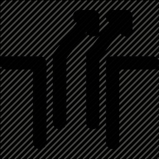 Arrow, Arrows, Creative, Gap, Grid, Outside, Right, Shape, Up Icon