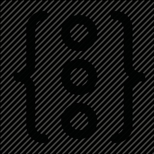 Circle, Code, Element, Gap Icon