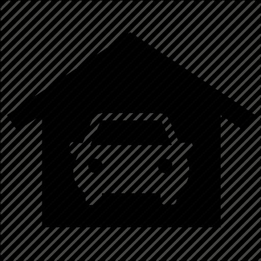 Garage, Garage Sale, Home, House, Parking Icon