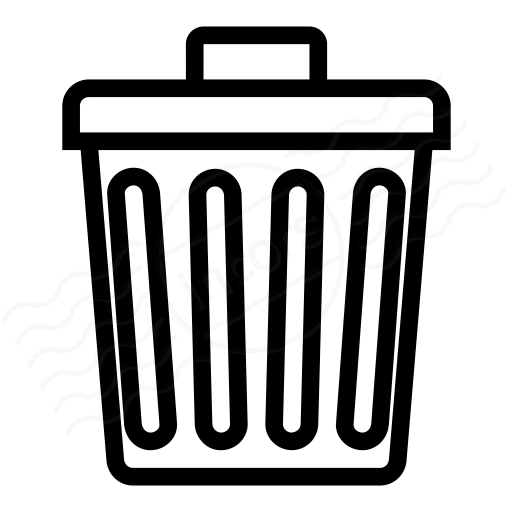 Iconexperience I Collection Garbage Can Icon