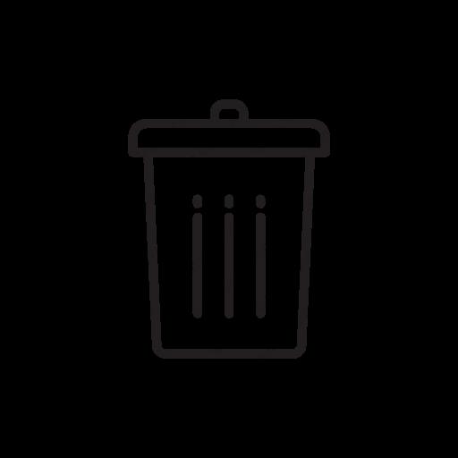 Download Trash Can,trashcan,garbage,wastebin,trash Icon Inventicons