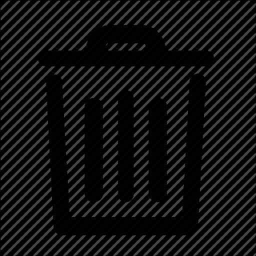 Bin, Delete, Erase, Garbage Icon