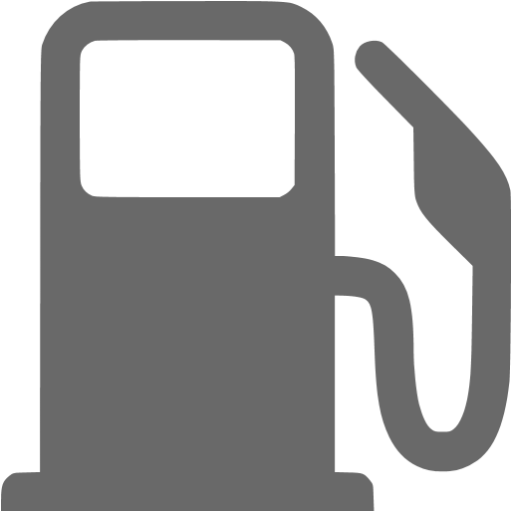 Dim Gray Gas Station Icon