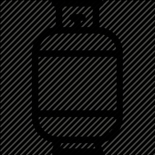 Cylinder, Gas Cylinder, Gas Tank, Oxygen, Regulator Icon