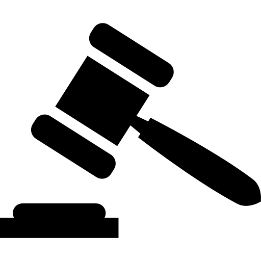 Legal Hammer Symbol Icons Free Download