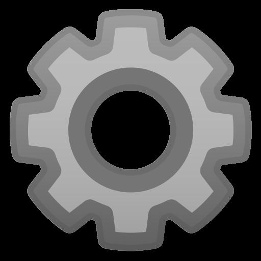 Gear Icon Noto Emoji Objects Iconset Google