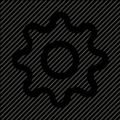 Cog, Gear, Motor, Settings, Well Gear Icon