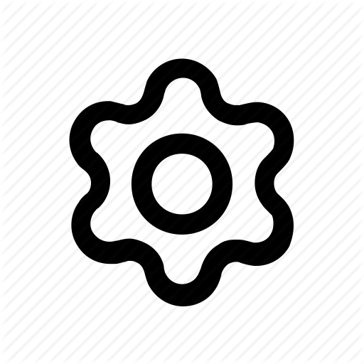 Cog, Gear, Settings, Small Gear Icon