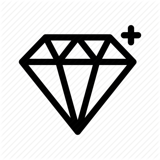 Diamond, Diamonds, Gem, Gemstone, Jewelry, Ruby, Treasure Icon