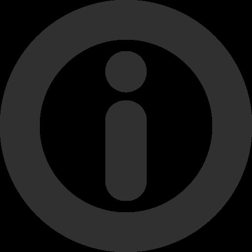 Information Icon Mono General Iconset Custom Icon Design