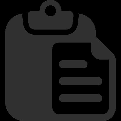 Paste Icon Mono General Iconset Custom Icon Design