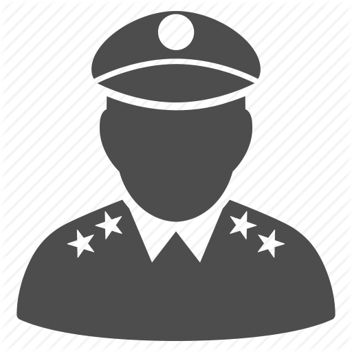 Army, Commander, General, Marshal, Military, Officer, Soldier Icon