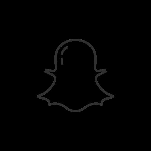 Ghost, Snapchat, Snapchat Logo, Social Media Icon