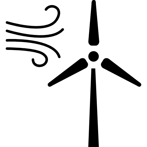 Ecological Tool For Winds To Generate Energy Icons Free Download