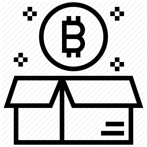 Bitcoin, Block, Box, Cashless, Cryptocurrency, Currency, Genesis Icon