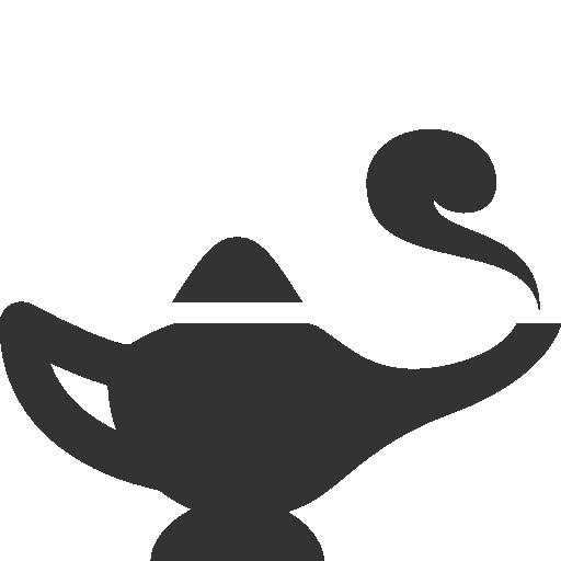Genie, Lamp Icon