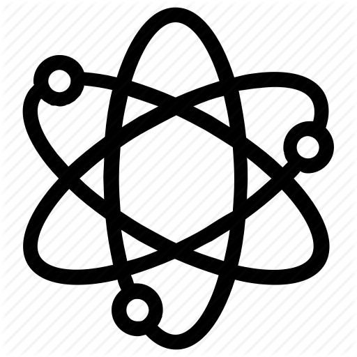 Atom, Atom Bond, Atomic, Electron, Genius, Molecular, Science Icon