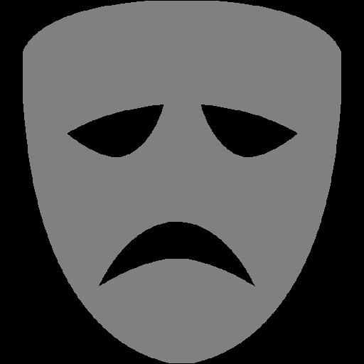 Gray Drama Icon