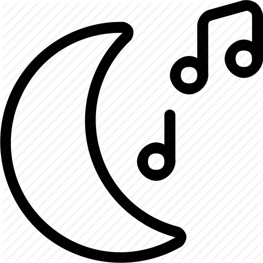 Audio, Genre, Genres, Moon, Music, Night, Tunes, Type, Types Icon