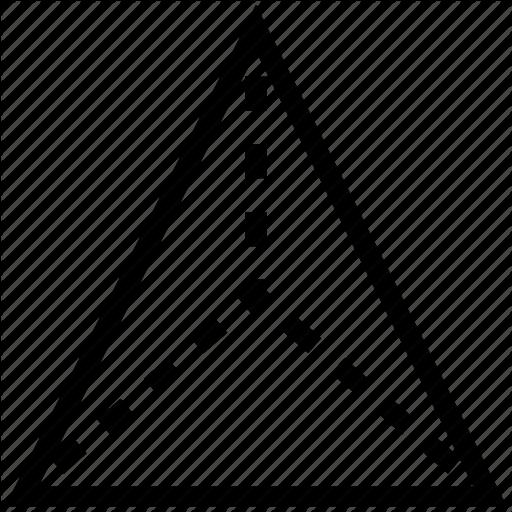 Geometry, Math, Mathematics, Pyramid Shape, Triangular Pyramid Icon