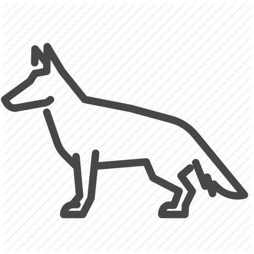 German Shepherd Icon