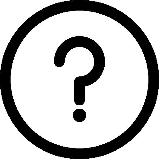 Round Help Button