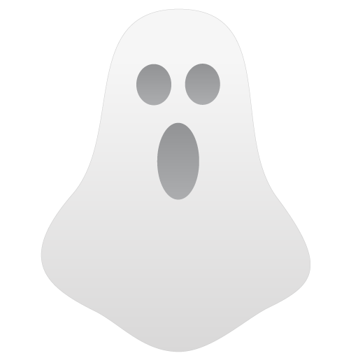 White Ghost Icon Free Icons Download