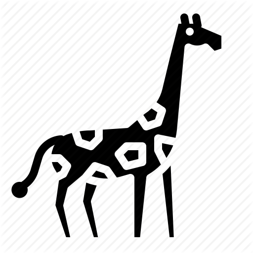 Animal, Giraffe, Life, Wild, Zoo Icon