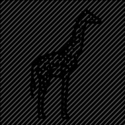 Animal, Giraffe, Mammal, Nature, Wild, Wildlife Icon
