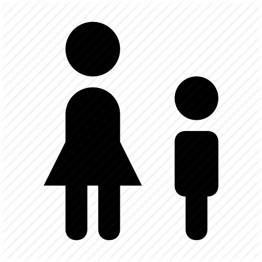 Boy, Children, Girl, Kids, Siblings Icon