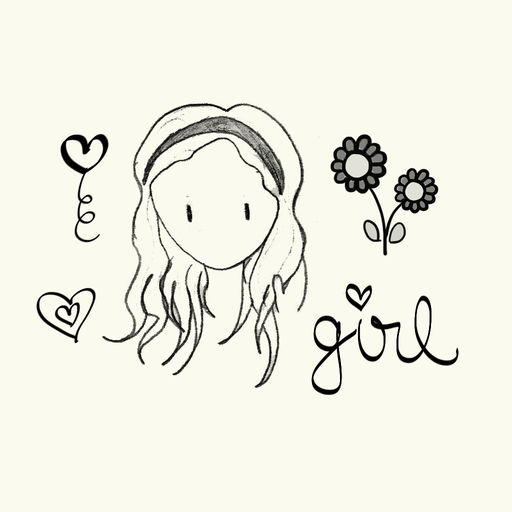 Girly Doodle Sticker Pack For Cute Girls In Love