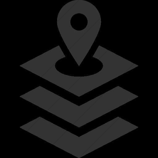 Simple Dark Gray Iconathon Gis Icon