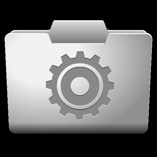 White Options Icon