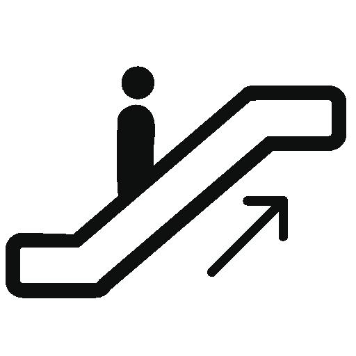 Escalator Vector Free, Vector Icons