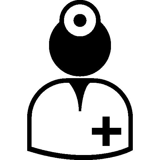 Surgeon Wearing Uniform Icons Free Download