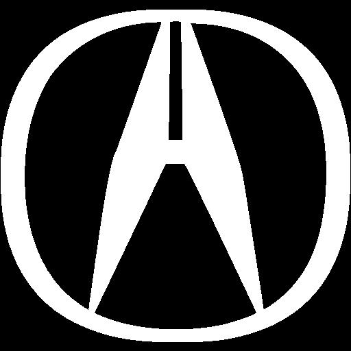 White Acura Icon