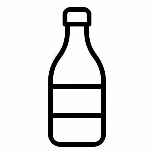 Beverage, Bottle, Container, Drinks, Food, Glass, Soft Drink Icon