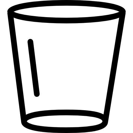 Empty Glass Icons Free Download